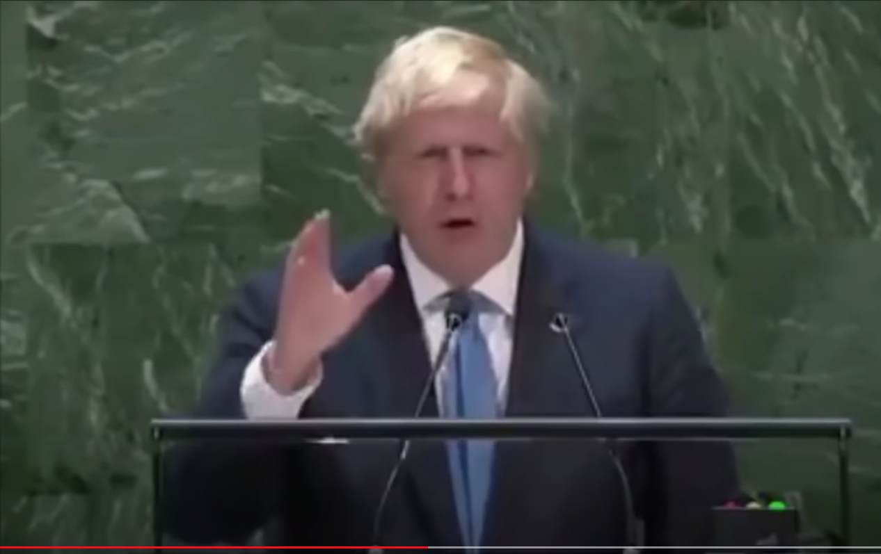 Boris Johnson confirms Microchips, nanobots and New World Order